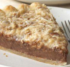 German Chocolate Pie | Spoonful. Bills favorite cake in a pie....hmmmmm