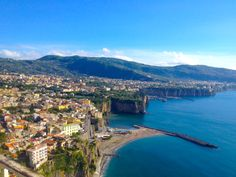 The beautiful coastal town of Amalfi, Italy.