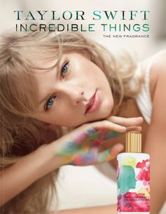 Taylor Swift's newest perfume Incredible Things! Smelled this last night and loved it. Hint of coconut