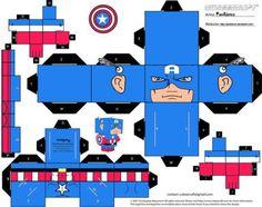 It's Homer papercraft (model like cubeecraft.com) By me