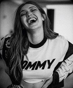 Gigi Hadid while shooting for #TOMMYxGIGI SS18.