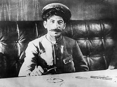 Stalin did not fight during the First World War. As a child he had been struck on two separate occasions by horse-drawn carriages, causing permanent damage to his left arm, and exempting him from the front. 1918.