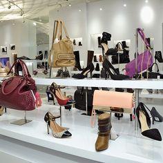 JustFab retail store grand opening #handbags