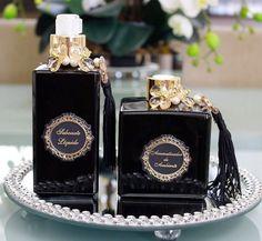 Sabonete e difusor com varetas blackf
