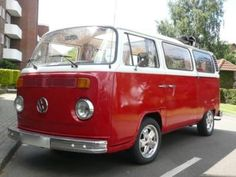 We had this exact VW bus.  On roadtrips when my legs got restless, I could walk laps around the seats. That was before seatbelts, of course!