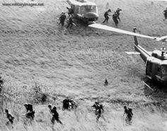 Vietnam War Combat | Vietnam_War_Combat_Assault-Troops_Moving_Out_to_Secure_the_Landing ...