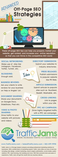 #OffPage #SEO strategies help boost your overall search engine ranking. Check out this infographic for more details!