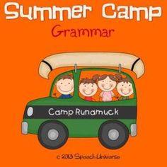 Summer Camp Grammar Game #This! Hashtags: #MajesticVision #Grammar