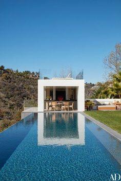 The pool pavilion | archdigest.com