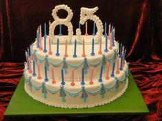 Zum 85 Geburtstag Cake, Desserts, Food, Pastries, 85th Birthday, Tailgate Desserts, Deserts, Kuchen, Essen