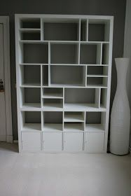 IKEA Hackers: 2x2 + 2x4 + 4x4 = My re-structured Expedit