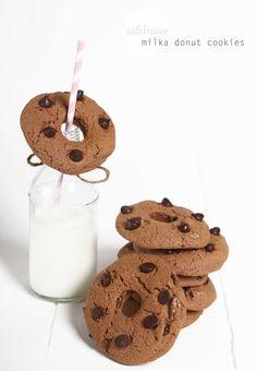 milka dOnut cookies with pecans