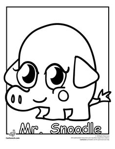 Coloring Pages of Moshi Monsters Moshlings - Get Coloring Pages | 305x236