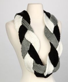 Braided Scarf, the photo is enough to figure this one out. The combinations are endless!