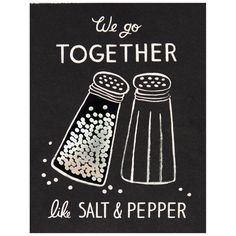 We Go Together Like Salt & Pepper card by Rifle Paper Co. Valentine Day Cards, Be My Valentine, Chalk Wall, Chalk Board, Art Mur, Chalkboard Designs, Chalkboard Ideas, Fall Chalkboard, Chalkboard Easel