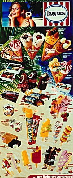 Jaaaaaaaaaaaaaaaaaaaaaaaaaa Das war meine Kindheits-Eis-Karte... Ed-von-Schleck Schwarzwald-Becher Buntstift Flutschfinger Calippo Mini Milk <3 <3 <3