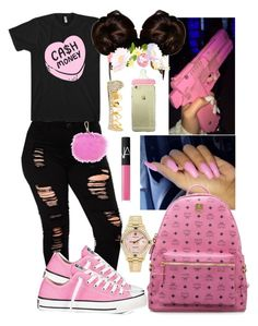 Designer Clothes, Shoes & Bags for Women Cute Lazy Outfits, Baddie Outfits Casual, Swag Outfits For Girls, Teenage Girl Outfits, Cute Swag Outfits, Teenager Outfits, Dope Outfits, Teen Fashion Outfits, Girly Outfits