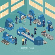 Heavy Industry Production Facility Isometric - Buildings Objects Download here : https://graphicriver.net/item/heavy-industry-production-facility-isometric/19627448?s_rank=127&ref=Al-fatih