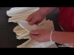 Как сделать ростовой цветок МК от Елены Глумовой - YouTube Paper Flower Decor, Large Paper Flowers, Tissue Paper Flowers, Giant Paper Flowers, Big Flowers, Flower Crafts, Flower Decorations, Paper Sunflowers, Paper Peonies