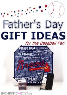 Father's Day Gift Ideas for the Baseball Fan #wmtmoms