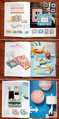 jonathan adler stationery catalog product photography patterns modern