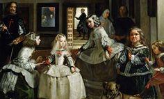 Madrid, Spain, The Prado: 1656 painting by Diego Velázquez, Las Meninas