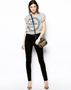 ASOS High Waisted Skinny Twill Trousers http://collectiondemoi.blogspot.co.uk