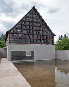 Bad Münster am Stein: Steinskulpturenmuseum; Fondation Kubach-Wilmsen; [Tadao Ando]