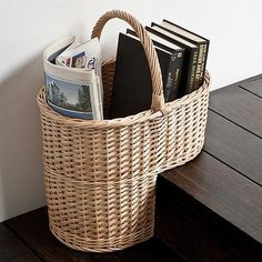 Howards Storage World | Stair Basket collect items in a tidy easy to carry basket ready to take upstairs