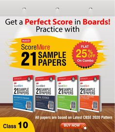 Score more in your #Class10thBoard by practicing with #MTG's Score More #21samplepapers. It is designed on the latest pattern and #markingscheme for 2020 released by CBSE. Math Books, Science Books, Social Science, English Book, English Literature, Hindi Books, Sample Paper, Board Exam