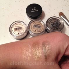 elf mineral eyeshadows - will have to look at these the next time i'm at target Elf Makeup, Body Makeup, Kiss Makeup, Makeup Blog, Makeup Swatches, Makeup Dupes, Beauty Make Up, Beauty Tips, Makeup Must Haves