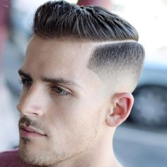 Haircuts for men. New haircuts for men. short haircuts for men . medium haircuts for men. Mens Side Haircut, Side Part Haircut, Side Part Hairstyles, Tapered Haircut, Fade Haircut, Hairstyles Haircuts, School Hairstyles, Hard Part Haircut, Braided Hairstyles