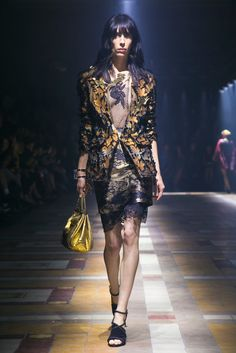 A look from the Lanvin Spring 2015 RTW collection.
