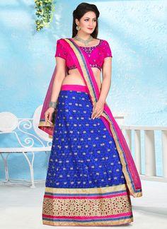 Fetching A Line Lehenga Choli For Wedding |  Bridal Lehenga Choli | Designer Lehenga Choli | Item Code: 6141