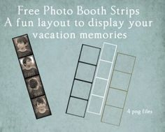 Free Photostrip Layers (and other photoshop freebies)