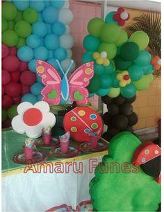 1000 images about mis decoraciones de fiesta infantil on for Decoracion con plantas para fiestas