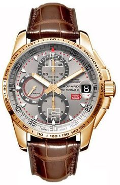 Chopard Mille Miglia Rose Gold Mens Automatic Watch – Men's style, accessories, mens fashion trends 2020 Fossil Watches, Men's Watches, Cool Watches, Wrist Watches, Citizen Watches, Cheap Watches, Watches Online, Elegant Watches, Beautiful Watches