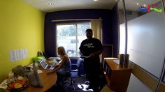 Let's Introduce OurSelves- Part 4 Office Antics Startup Office Video, Office Gifs, Funny Office, Office Humor, Awkward Moments, Funny Moments, Funny Times, Perth Australia, In This Moment