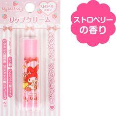【SANRIO★Mymelody★マイメロディ】保湿リップクリーム/ストロベリーの香り☆ 324 Yen