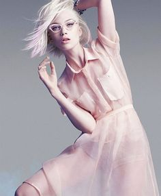 .pink dress | pink sheer dress | plisse skirt | Discover more looks on http://www.chicneverland.com/shop-style/