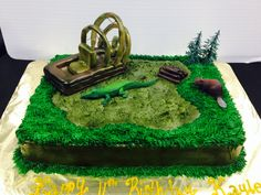 Swamp Cake Serves 24 Alligator Cake, Cake Servings, Turning, Cakes, Desserts, Kids, Food, Tailgate Desserts, Young Children