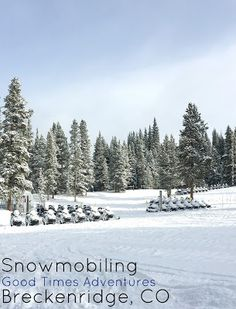 Things to do in Breckenridge | Snowmobiling | Guide to Breckenridge | Visiting Breckenridge | Affording a Ski trip | Going Skiing on a budget