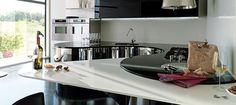 Gorgeous kitchen design from Aster Cucine - Ebano grigio
