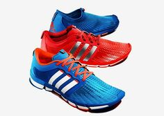 buy popular 4f3c0 cdf2a adidas unveils its first natural running shoe collection with the adipure  Motion, Gazelle and Adapt. The adipure running range is engineered