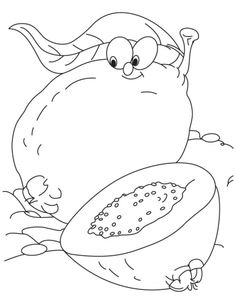 Guava Coloring Page   Download Free Guava Coloring Page for kids   Best Coloring Pages