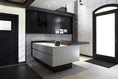 Versatile Container of Information and Functionality: Sliding Desk by Minimal Cucine