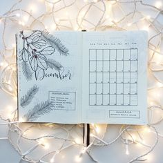 My Bullet Journal is ready for December, and yours? ☃️