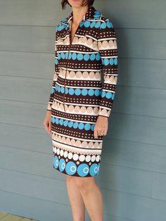 Vintage 1960's GoGo  Stripes and Dots Dress by dAdAStudio on Etsy, $30.00