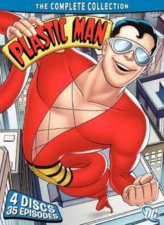 The Plastic Man Comedy/Adventure Show poster, t-shirt, mouse pad Absorbing Man, Dc Trinity, Justice Society Of America, Plastic Man, Nerd Art, Dc Comics Superheroes, Superhero Characters, Comic Movies, Comic Books