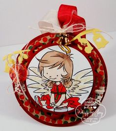 Angel Tag by Twinshappy - Cards and Paper Crafts at Splitcoaststampers